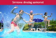 Eénoudervakantie Sirmione*** in Italië, Camping Sirmione dinsdag