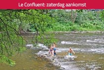 Camping Le Confluent in België, Camping Le Confluent
